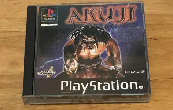 Akuji para play station 1 $600 en Balvanera
