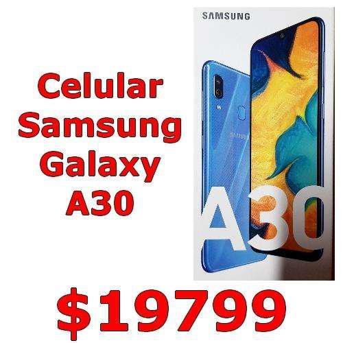 Celular samsung galaxy a30 - nuevo en caja cerrada -