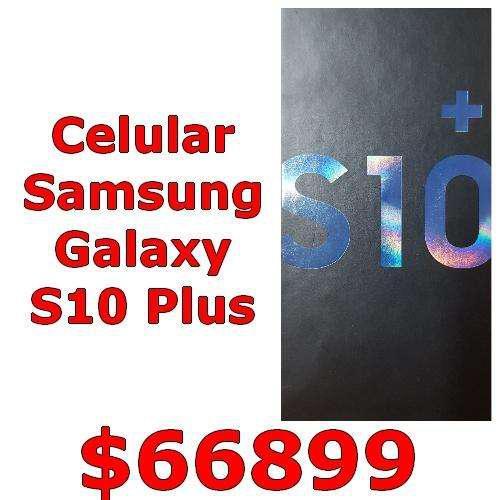 Celular samsung galaxy s10 plus nuevo s10 s s10