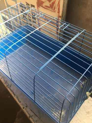 Jaula conejo/cobayo rectangular 69x45x36