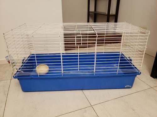 Jaula para conejo, chinchilla, cobayo y rata