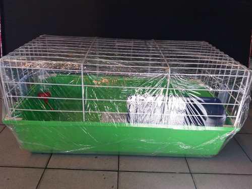 Jaula para conejo, cobayo o chinchilla