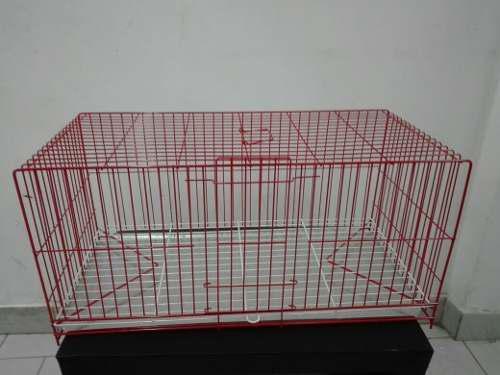 Jaula para conejos, cobayos medidas 65x33x31