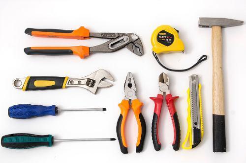 Kit set juego herramientas accesorios manteniento hogar auto