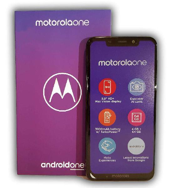 Motorola one 64/4gb 4g lte nuevo