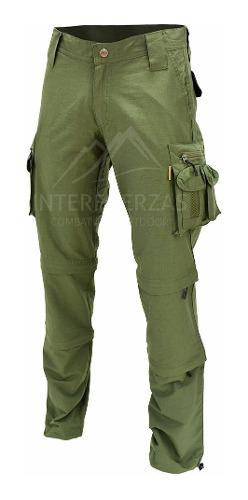 Pantalon cargo hombre desmontable trekking secado rapido