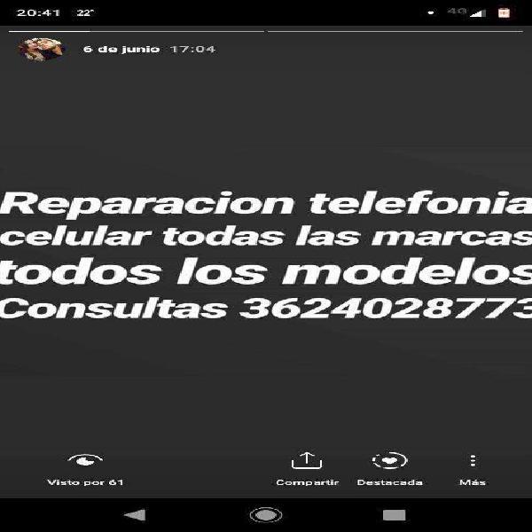 Servicio técnico teléfonia celular