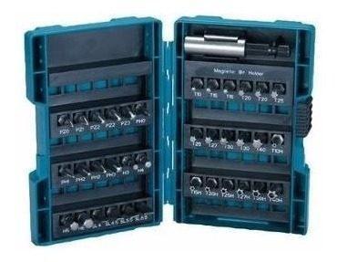 Set accesorios puntas 37 piezas makita b-29119 12 cuotas