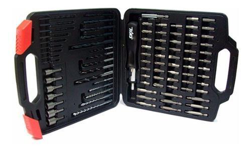 Set accesorios skil mechas + puntas 89 pzas maletin - fdn