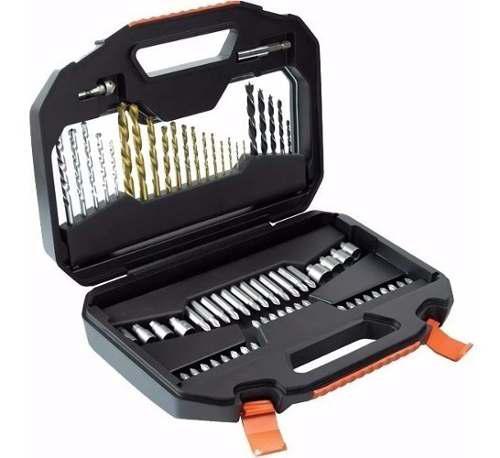 Set accesorios taladro 70 piezas black and decker a7184-xj