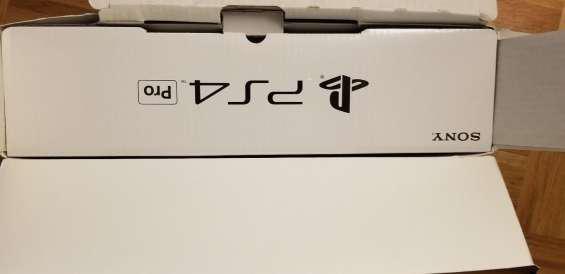 Sony ps4 pro playstation 4 pro 1tb jet black consola 4k hdr