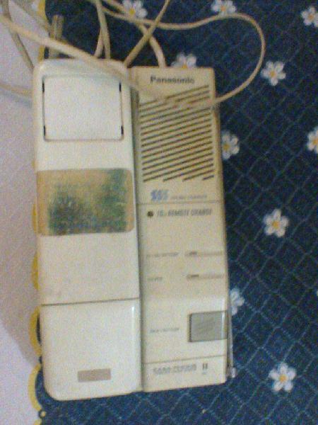 Telefono panasonic inalambrico! a reparar!!!