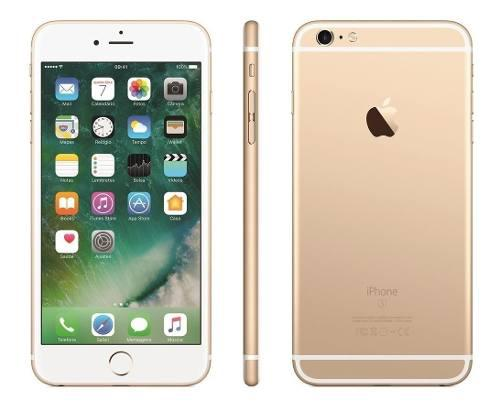 Apple iphone 6s plus 128gb- refabricado a nuevo -gtia + film