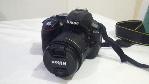 Camara nikon d5300+ lente