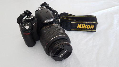 Camara reflex nikon d3100 + lente 18-55mm + estuche