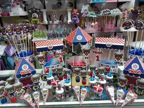 Combo accesorios candy bar nautico marinero