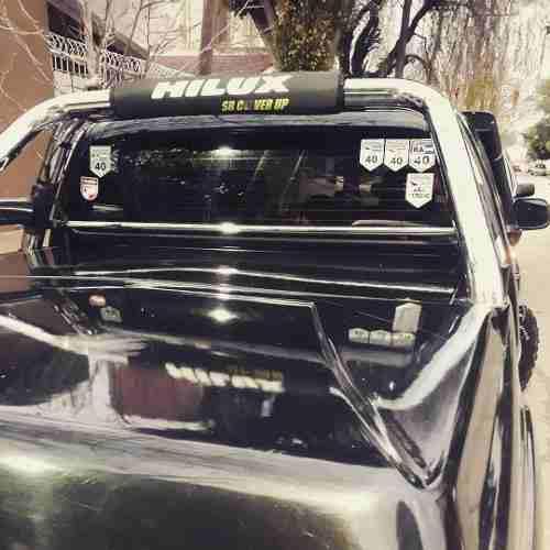 Funda E Covertor Cubre Lona Antivuelco Hilux Ranger Amarok