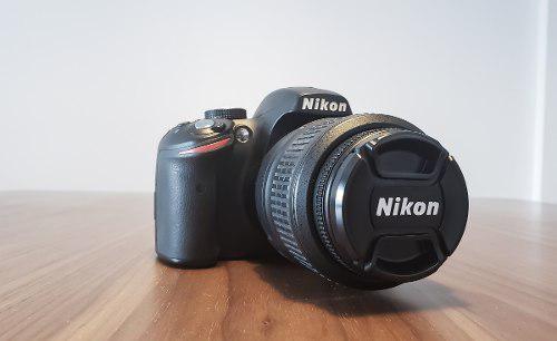 Nikon d3200 kit (lentes,bateria,memoria,bolso)