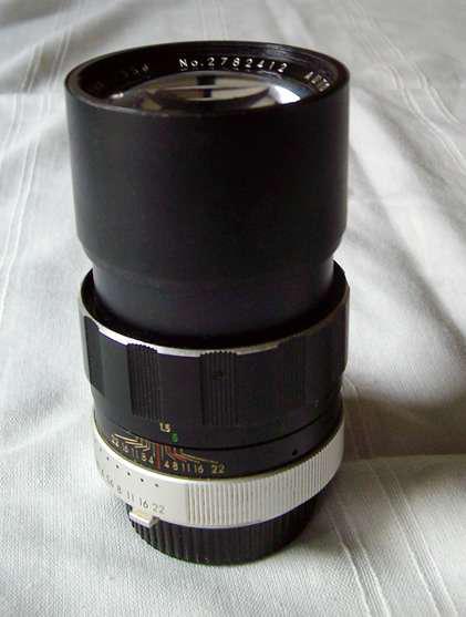 Zoom lente soligor 1:2.8 ? f= 135 mm en Recoleta