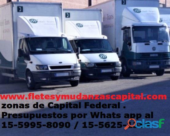 Mudanzas económicas en Almagro Caballito Boedo