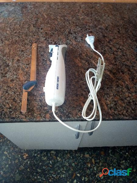 Cuchillo eléctrico black and decker usado cuchillo de cocina