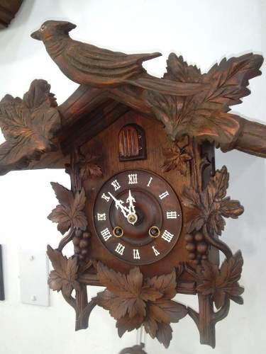 Antiguo reloj cucu a cuerda ghs aleman muy antiguo