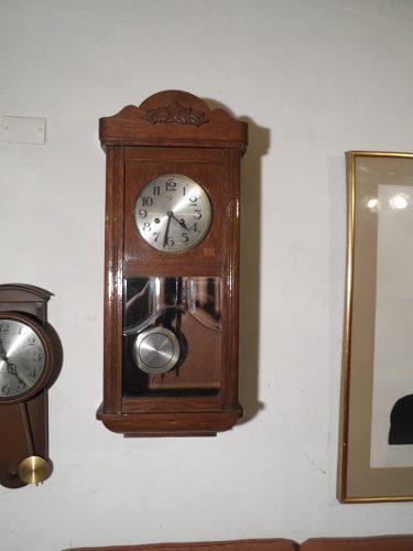 Antiguo reloj pared carrillon soneria 1/4, 1/2, 3/4 y hora