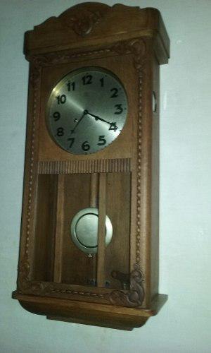 Antiguo reloj pared junghans wurttemberg w 202 a varillas
