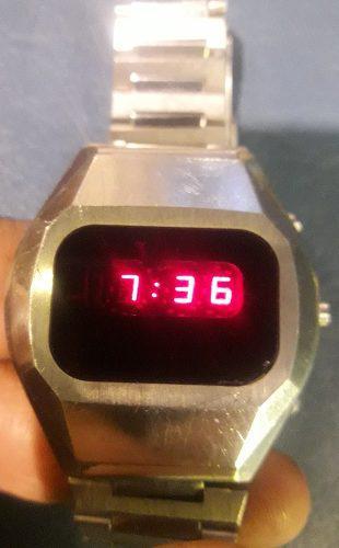 Antiguo vintage reloj orient touch led primer digital digi