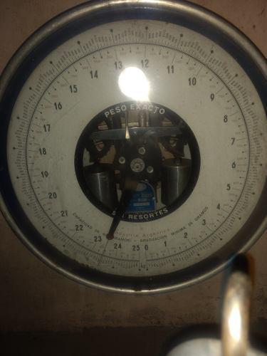 Balanza reloj 25kg