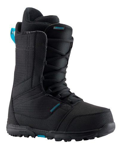 Bota burton invader snowboard hombre black 2019