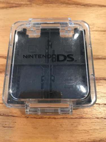 Caja porta juegos nintendo ds xl