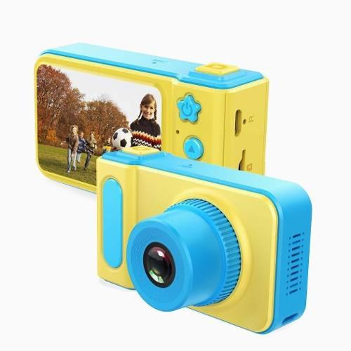 Camara digital foto video lcd chicos dia niño memoria sd