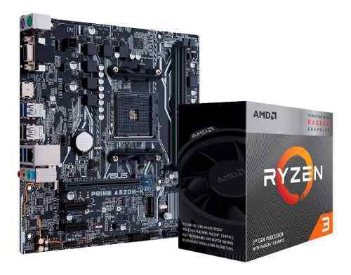 Combo actualizacion ryzen 3 3200g vega 8 mother a320m cuotas