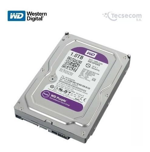 Disco rigido hdd western digital purple purpura 1 tb camaras