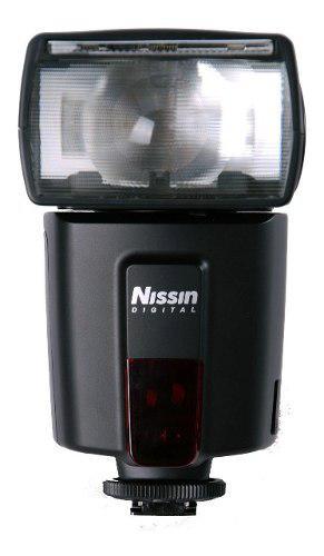 Flash nissin di600 dedicado p/ canon digital guia 44 e-ttl