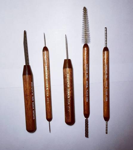 Herramientas importadas para cerámica o artesanía set x 5
