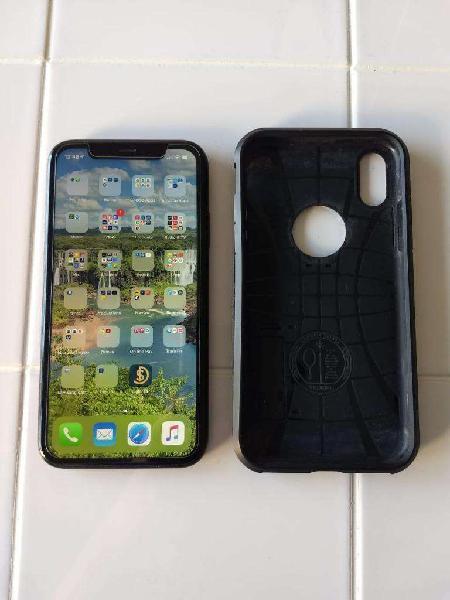 Iphone xr 256gb negro. mas case