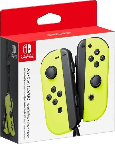 Joystick joy-con neon amarillo nintendo switch original