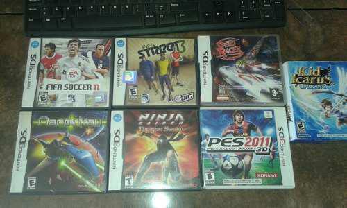 Juegos Nintendo Ds - Final Fantasy + Pes 3ds