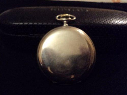 Longines,antiguo reloj de bolsillo,3 tapas,caja de niquel.