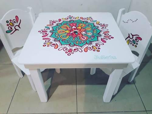 Mesas infantiles varios diseños