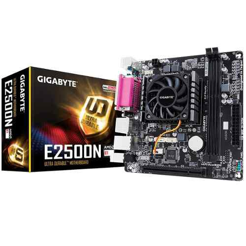 Mother con micro gigabyte e2500n dual core + radeon hd 8240