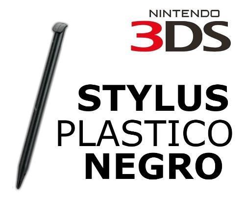 Pen stylus lapiz 3ds old cortos plasticos color negro