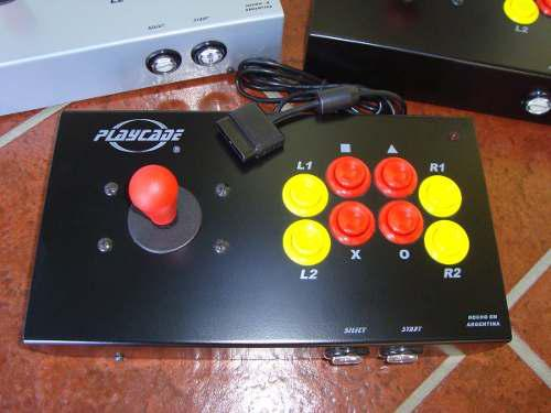 Playcade arcoíris play, ps2, ps3 y pc joystick arcade mame