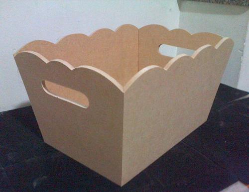 Porta cosmeticos fibrofacil artesanias ajuar madera