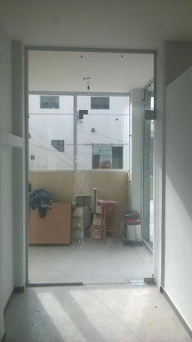Puerta vidrio templado 10mm inc. 91,4x213,4 cierra ps1 d20
