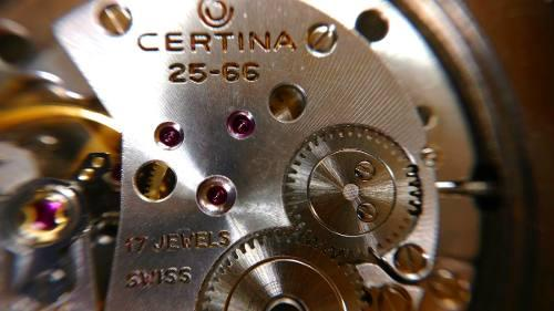 Reloj antiguo certina original