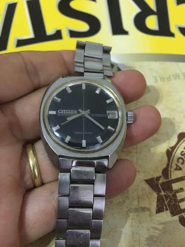 Reloj antiguo citizen original divino funcionando $ 3800