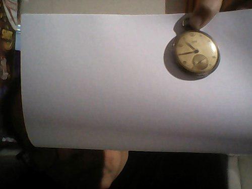 Reloj de bolsillo antiguo vulcain grand prix - 17 rubis